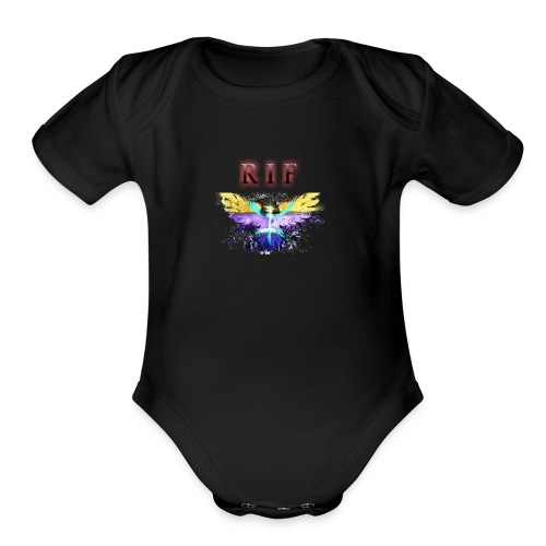 rif - Organic Short Sleeve Baby Bodysuit
