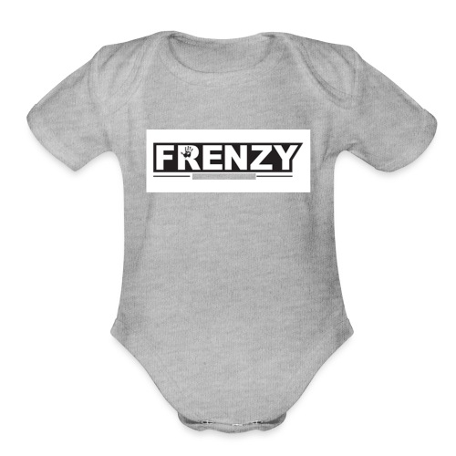 Frenzy - Organic Short Sleeve Baby Bodysuit