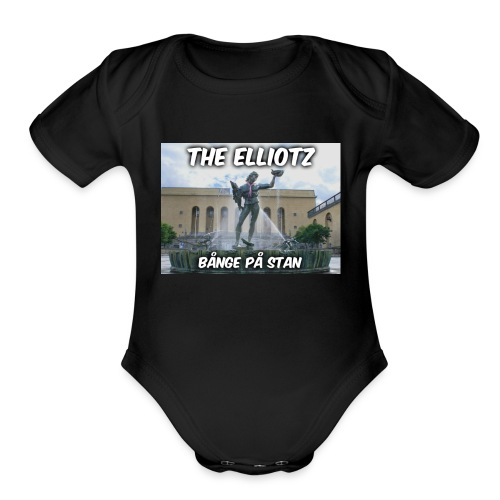 The Elliotz - BPS shirt! - Organic Short Sleeve Baby Bodysuit