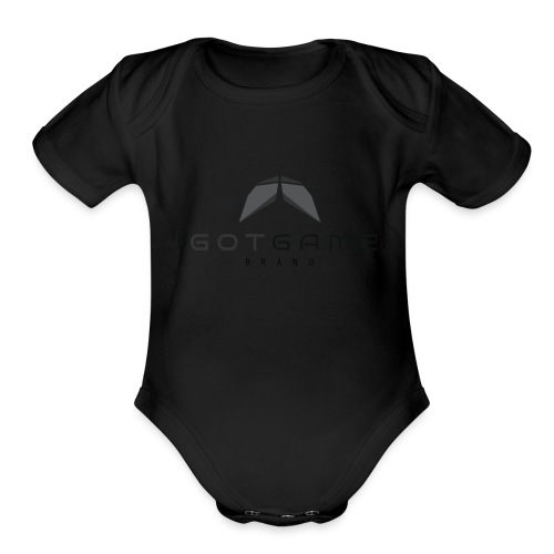 IGOTGAME ONE - Organic Short Sleeve Baby Bodysuit