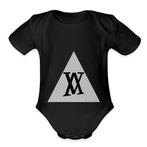 vVv - Organic Short Sleeve Baby Bodysuit