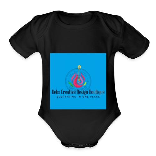 Debs Creative Design Boutique 1 - Organic Short Sleeve Baby Bodysuit