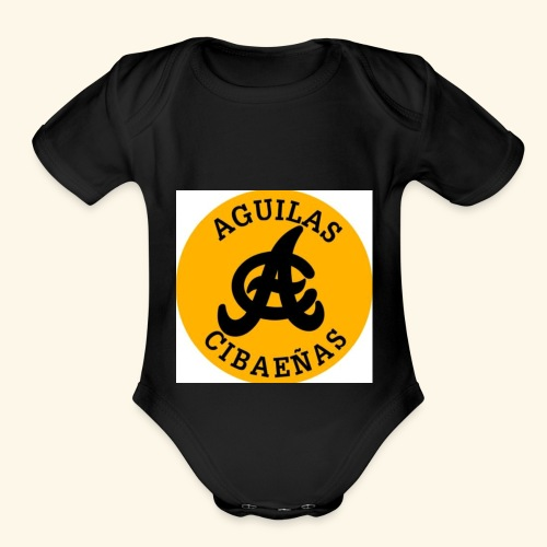 Is a baseball team from the Dominican Republic. - Organic Short Sleeve Baby Bodysuit
