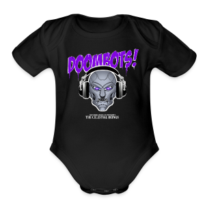 DOOMBOTS (The Celestial Beings Audio Comic Book) - Short Sleeve Baby Bodysuit