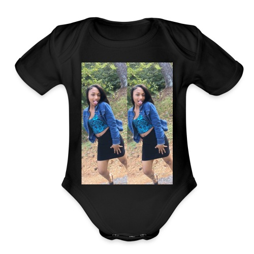 A TORI LOVER SHIRT - Organic Short Sleeve Baby Bodysuit