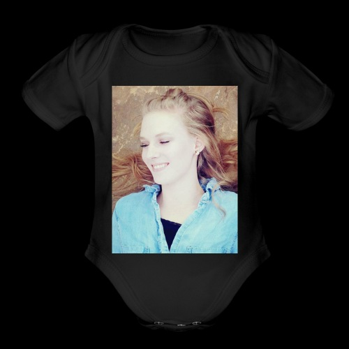 Christina3 - Organic Short Sleeve Baby Bodysuit