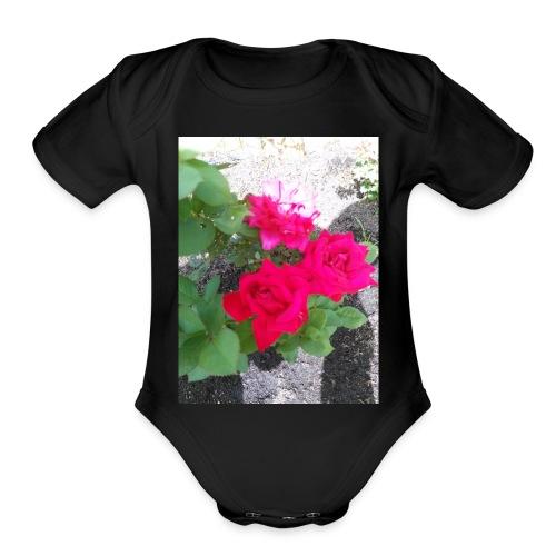 jessie's garden - Organic Short Sleeve Baby Bodysuit