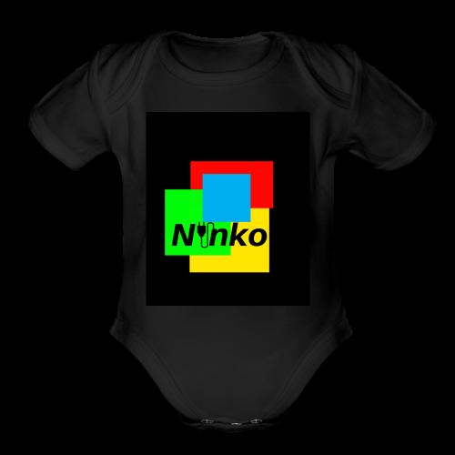 Ninko - Organic Short Sleeve Baby Bodysuit