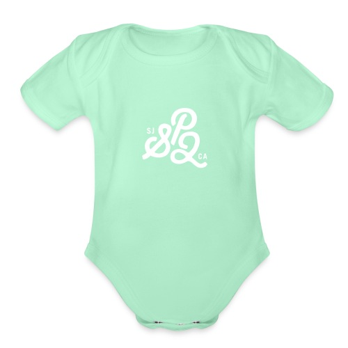 SP2 Logo1 - Organic Short Sleeve Baby Bodysuit