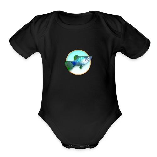 Platy Accessories - Organic Short Sleeve Baby Bodysuit