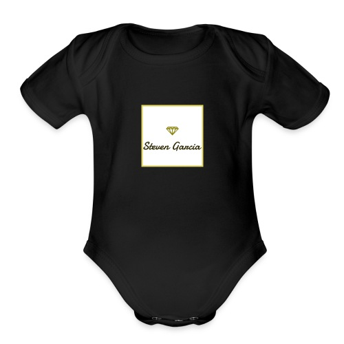 steven garcia brand - Organic Short Sleeve Baby Bodysuit