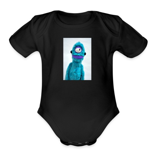 Cyclop - Organic Short Sleeve Baby Bodysuit