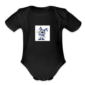 D911B211 E49C 450B 9CB8 6D4D76F1C451 - Short Sleeve Baby Bodysuit