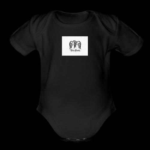 True faith - Organic Short Sleeve Baby Bodysuit