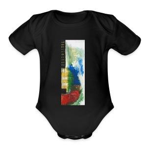 Guitar - Short Sleeve Baby Bodysuit