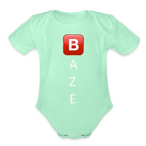 kool - Organic Short Sleeve Baby Bodysuit
