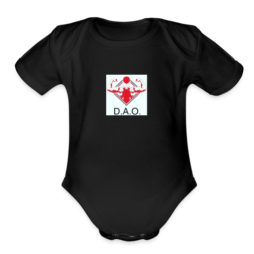 Dominate All Obstacles - Organic Short Sleeve Baby Bodysuit