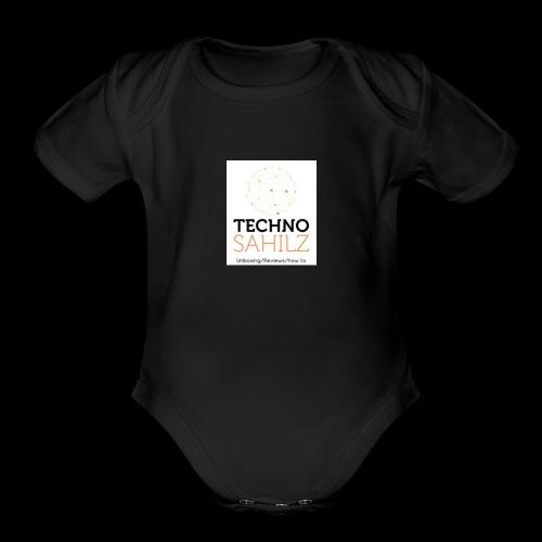 Techno Sahilz - Organic Short Sleeve Baby Bodysuit