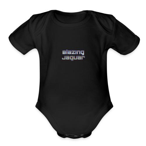 BlazingJaguar - Organic Short Sleeve Baby Bodysuit