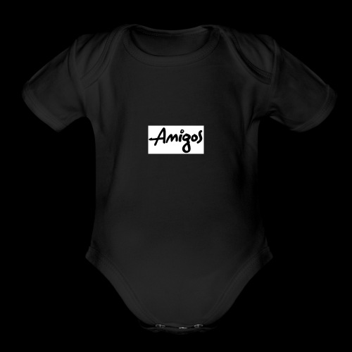 AMIGOS - Organic Short Sleeve Baby Bodysuit