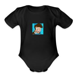Modern swetshirt - Short Sleeve Baby Bodysuit