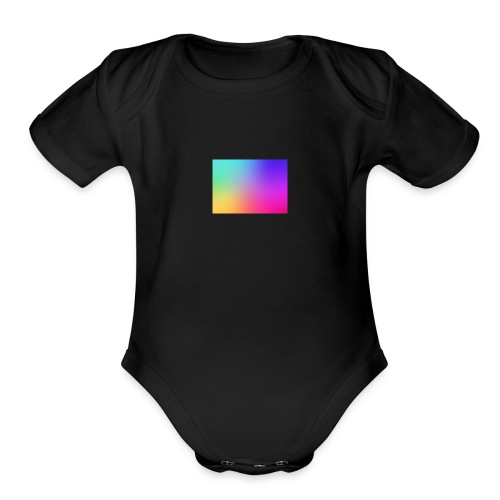 GRADIENT - Organic Short Sleeve Baby Bodysuit