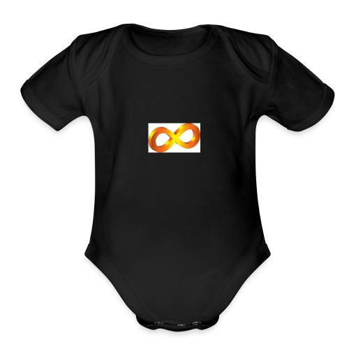 infinite - Organic Short Sleeve Baby Bodysuit
