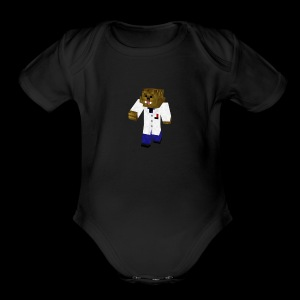 DrBaacca - Short Sleeve Baby Bodysuit