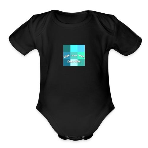 EandCTM - Organic Short Sleeve Baby Bodysuit