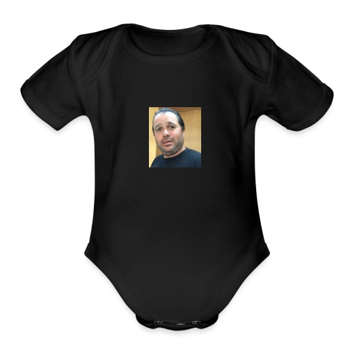 Hugh Mungus - Organic Short Sleeve Baby Bodysuit