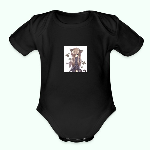 markson9 in real life - Organic Short Sleeve Baby Bodysuit