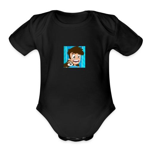Modern swetshirt - Organic Short Sleeve Baby Bodysuit