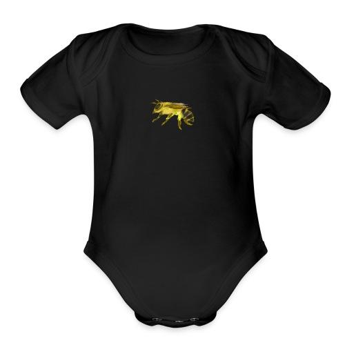 Small Bee - Organic Short Sleeve Baby Bodysuit