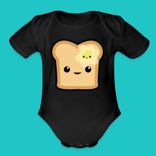 Toast - Organic Short Sleeve Baby Bodysuit