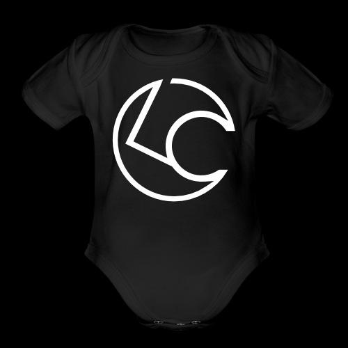 London Cage Emblem - Organic Short Sleeve Baby Bodysuit