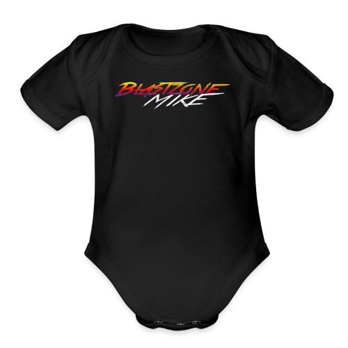 Blastzone Mike - Organic Short Sleeve Baby Bodysuit