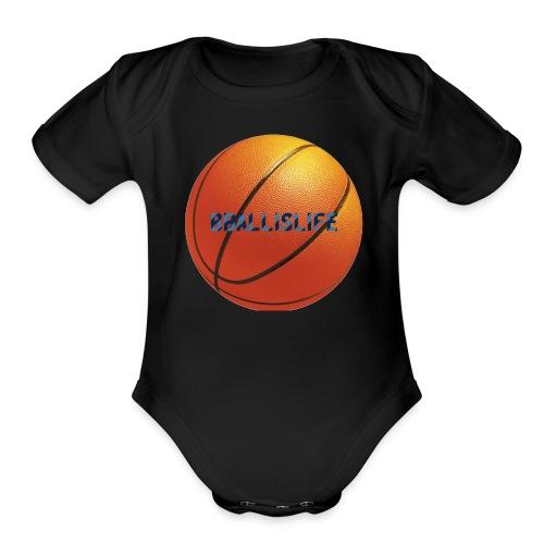 BBallislife - Organic Short Sleeve Baby Bodysuit