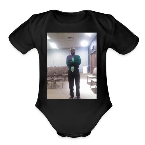 COUN 086 - Organic Short Sleeve Baby Bodysuit