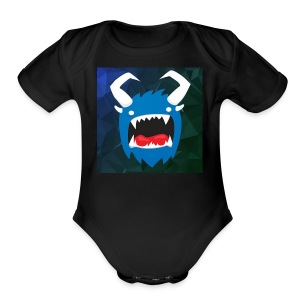 YouTube Icon - Short Sleeve Baby Bodysuit