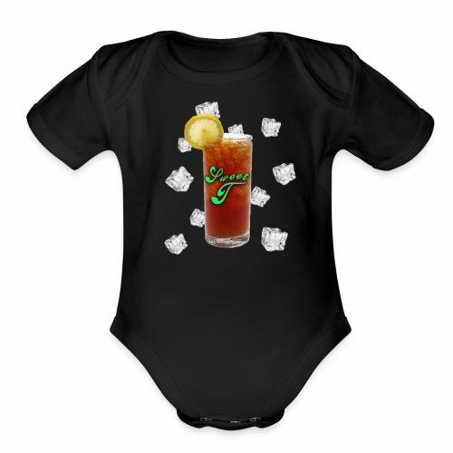 Sweet T Tea-Shirts - Organic Short Sleeve Baby Bodysuit