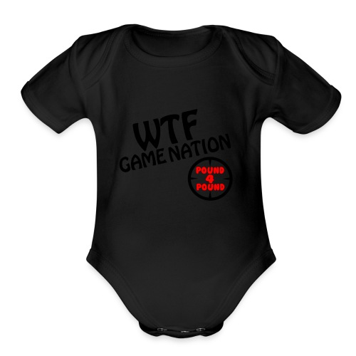 Freehand Pound for Pound - Organic Short Sleeve Baby Bodysuit