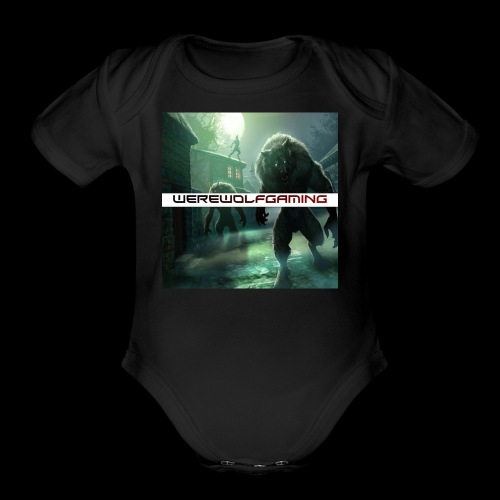 WerewolfGaming Merch - Organic Short Sleeve Baby Bodysuit