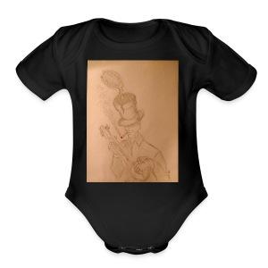 Martian Flytrap - Short Sleeve Baby Bodysuit