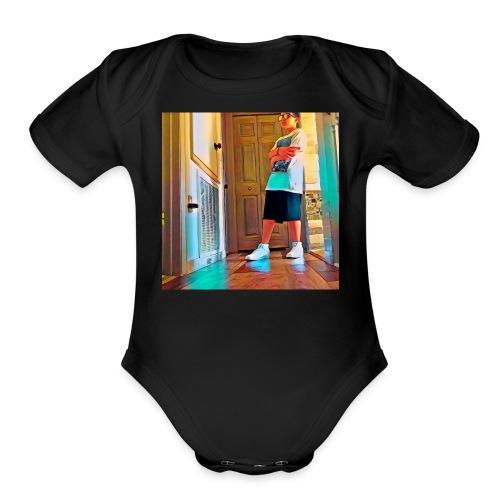 TheDabMaster21 - Organic Short Sleeve Baby Bodysuit