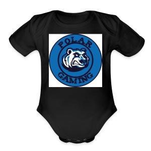 POLARG - Short Sleeve Baby Bodysuit