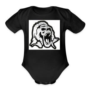 Gorilla Shop - Short Sleeve Baby Bodysuit