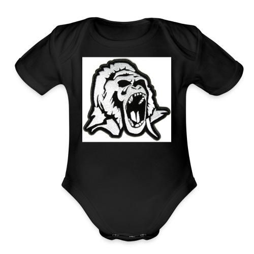 Gorilla Shop - Organic Short Sleeve Baby Bodysuit