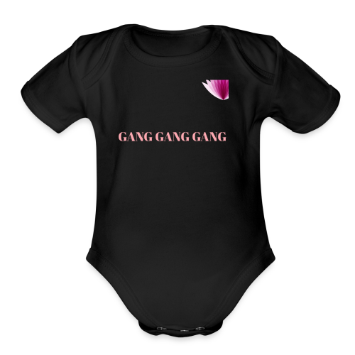 GANG - Organic Short Sleeve Baby Bodysuit