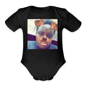 Fade to fiy - Short Sleeve Baby Bodysuit