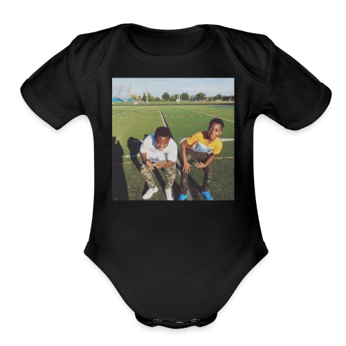 Marcelle - Organic Short Sleeve Baby Bodysuit